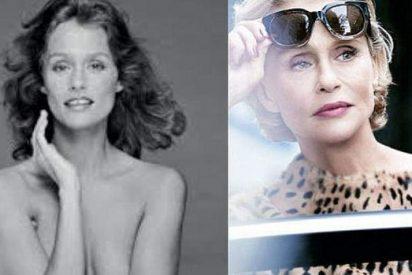 Lauren Hutton, posa desnuda a los 73 años para Calvin Klein