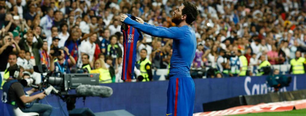 Lo que se esconde detrás del festejo de Messi en su último gol al Madrid