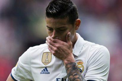 Los cuatro finalistas para llevarse a James Rodríguez del Real Madrid (dos tienen ventaja)