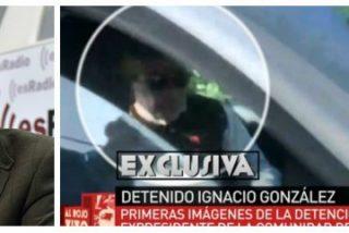 """Losantos sobre la detención de Ignacio González: """"Alguien me dijo que iba a producirse hace quince días"""""""