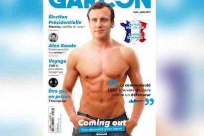 Emmanuel Macron: la portada gay del próximo presidente de Francia