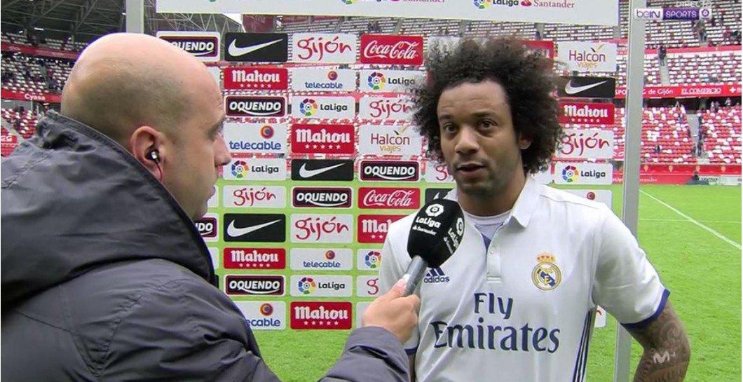 """Marcelo: """"Isco está muy contento por sus goles, pero está más contento por el resultado del equipo"""""""