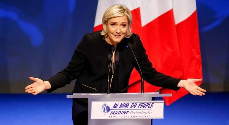 Le Pen niega la responsabilidad de Francia en la persecución de judíos durante la ocupación nazi