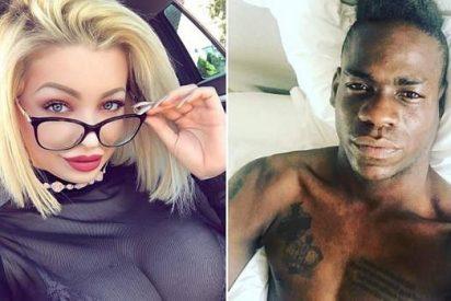Se filtran los mensajes de Mario Balotelli a una actriz porno