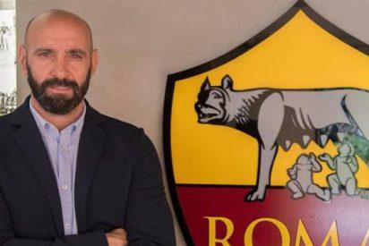 ¡'Marrón' nada más llegar! La reunión más caliente de Monchi con Totti en la Roma
