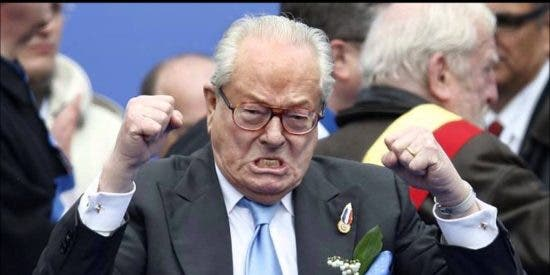 Jean-Marie Le Pen entierra el hacha de guerra y apoya a su hija en las elecciones