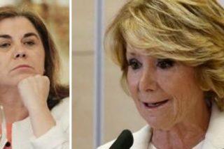"""La podemita Lucía Méndez apuñala con saña a Aguirre: """"La Thatcher española acabó convertida en una celebrity"""""""