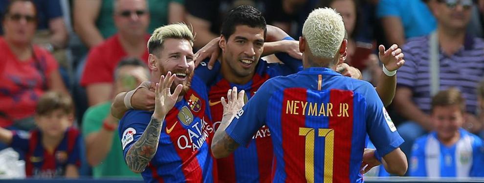 Messi, Neymar, Suárez y compañía piden a Luis Enrique que aparte a un jugador del Barça