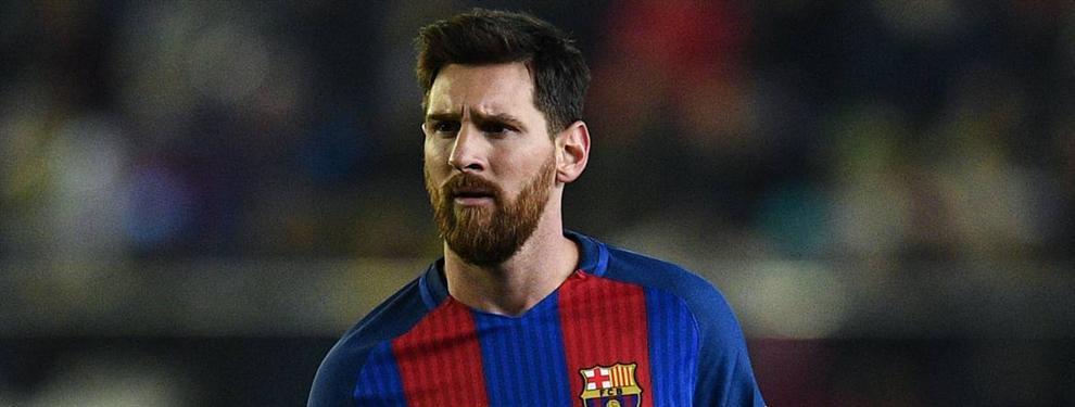 Messi veta una llegada al Barça (y el problema estalla en el Camp Nou)