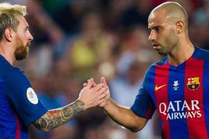 Messi y Mascherano lideran la cumbre con tres 'rajadas' que matan a Luis Enrique en el Barça