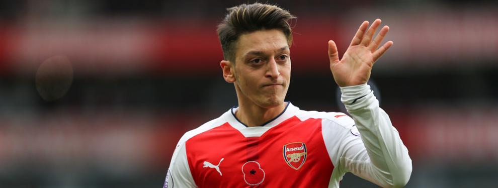 """Mesut Özil, o cómo decir """"no"""" a la mejor oferta del mundo en sólo tres minutos"""