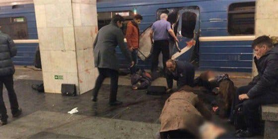 Los vídeos del terror en el metro de San Petersburgo tras las bombas