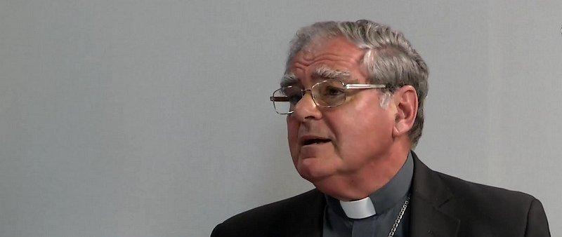 """Monseñor Ojea, en el programa """"Somos noticia"""""""