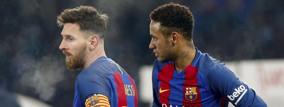 Neymar apuñala a Messi (y al Barça) por la espalda con una llamada que llega al Real Madrid