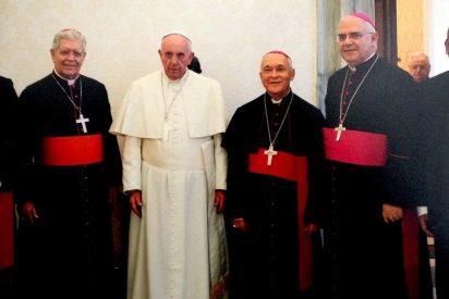El Papa envió transmitió su saludo, solidaridad y cercanía al cardenal Urosa
