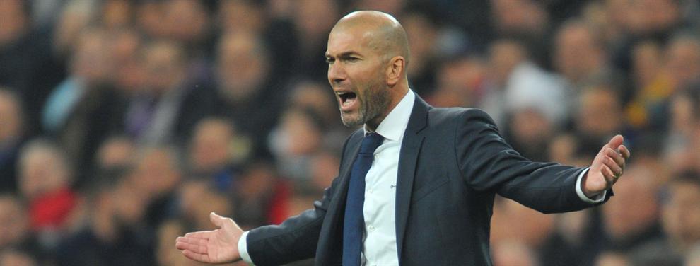 ¡Ojo! Zidane hace fuerza para cargarse a un galáctico de la lista de la compra