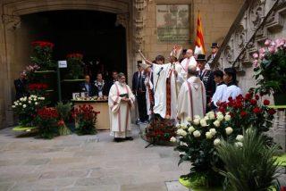 """Omella invita, ante Puigdemont, a """"evitar la confrontación y la división"""""""