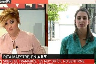 Rita Maestre se marca un papelón cuando Pardo le pregunta qué le parece el Tramabús del odio