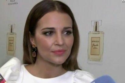 """Paula Echevarría rompe a llorar ante la prensa: """"Sí, pasan cosas en mi casa…"""""""