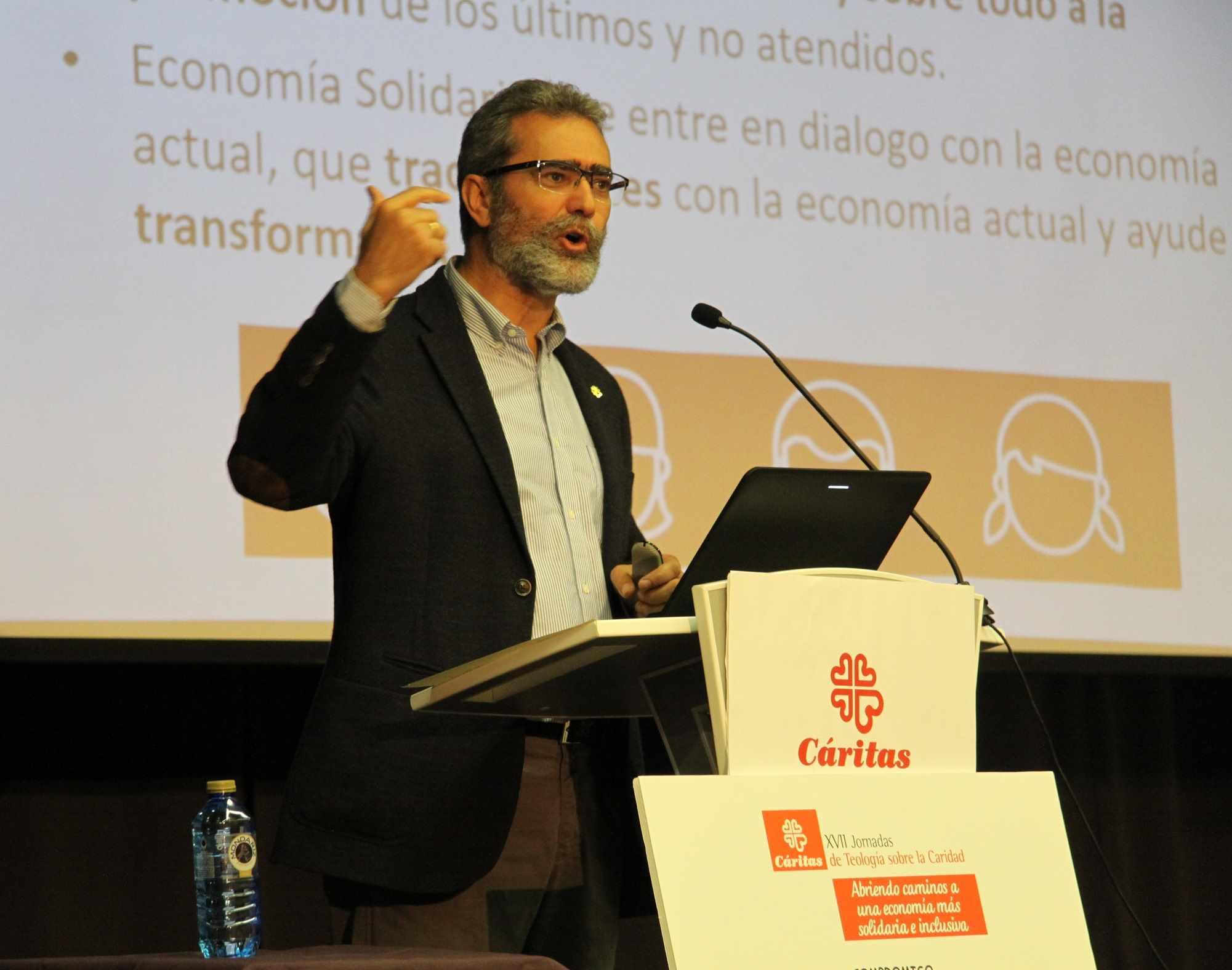 """Cáritas apuesta por la """"economía solidaria"""""""