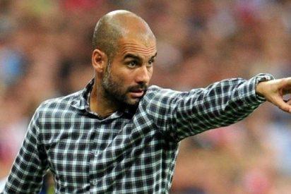 El independentista Pep Guardiola aprovecha el fútbol para lanzar porquería sobre España