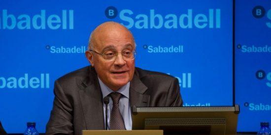 Josep Oliu: Banco Sabadell gana 216,1 millones hasta marzo de 2017