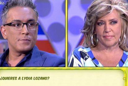 """Kiko Hernández vuelve a darle con la mano abierta a Lydia Lozano: """"¡Mis hijas no tienen la culpa de nada!"""""""