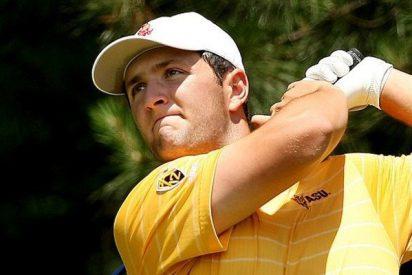 Masters de Augusta: Sergio García resiste y Jon Rahm se retrasa al final en un complicado inicio