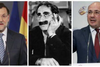 A 'Groucho' Rajoy nunca le importó Sánchez, sino mantener el poder en Murcia