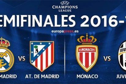 Champions League: la UEFA 'evita' otra final madrileña y cruza a Real y Atleti en semifinales