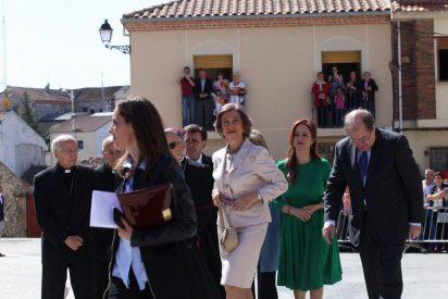 """La reina Sofía califica de """"impresionante"""" la XXII edición de Las Edades del Hombre"""