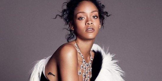 Rihanna cambia el chándal por los diamantes
