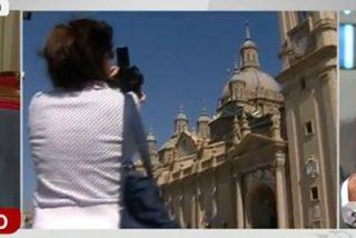 Alfonso Rojo da para el pelo al 'alcalde de la gomina' que quiere expropiarle a la Iglesia la catedral de Zaragoza