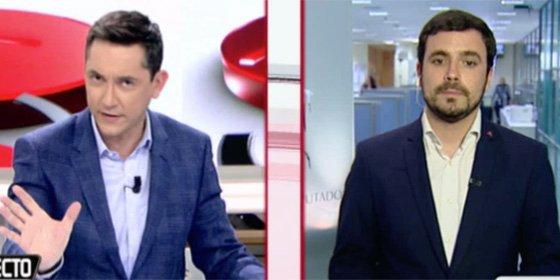 Ruiz la pone en bandeja y Garzón no defrauda: todo es una conspiración contra la izquierda