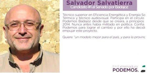 El número uno de Podemos Badajoz al Senado, pillado con pornografía infantil