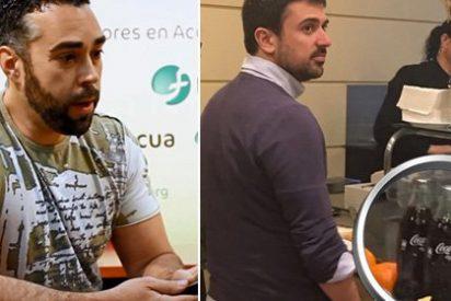 El podemita Rubén Sánchez se lleva un revolcón tuitero por su guiño a Espinar tras su escándalo con la Coca-Cola