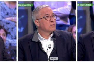 """La bufonada de Sardá deja en modo pánico a López, la 'niñera' de Podemos: """"¿Dónde está Marhuenda?"""""""
