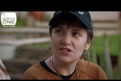 Lena Dunham muestra una apática imagen de Tenerife en la televisión británica