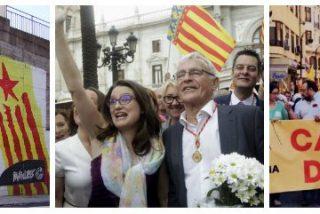 Los separatistas catalanes se infiltran en Valencia con la complicidad de Compromís y PSOE