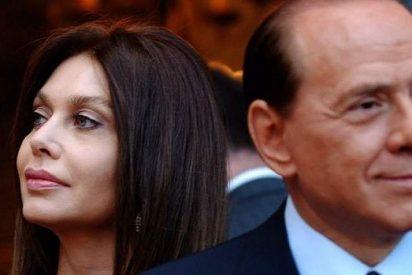 Silvio Berlusconi, desplumado por su ex mujer