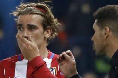 Simeone se pilla un 'mosqueo' bestial con Griezmann (la reacción nunca antes vista del argentino)