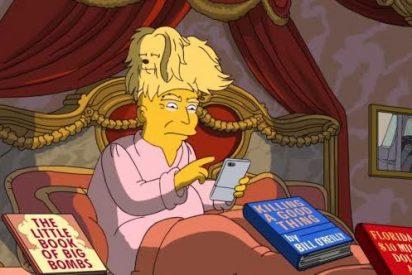 Magistral resumen de los Simpson sobre los 100 días de Trump como presidente