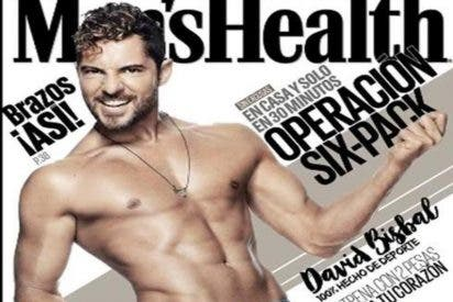 David Bisbal presume a pelo de tener 'tableta de chocolate'