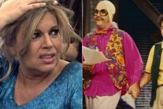 'Pepelu', el mamarracho que sacó Pepe Navarro hace 25 años, era un parodia cruel de Terelu