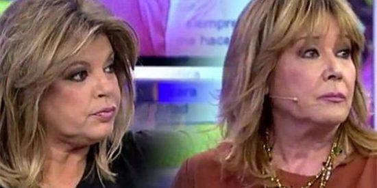 """Tensión entre Mila Ximénez y Terelu Campos: """"¡Tienes el culo pegado a la silla sin decir nada!"""""""