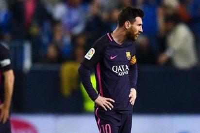 Tiró la Liga: Lío en el vestuario del Barça tras perder ante el Málaga