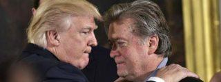 La patada en el culo de Donald Trump al verdadero amo de la Casa Blanca