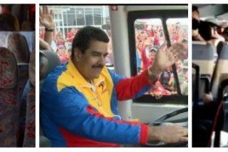 Twitter se parte de risa con el 'tramabús' de Podemos y proponen que lo conduzca Maduro