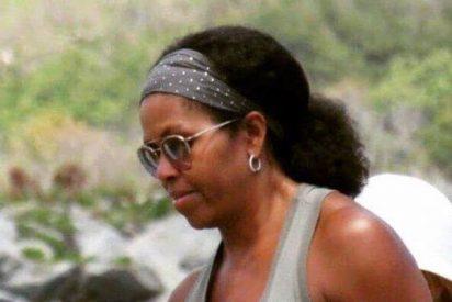 Así es el pelo real de Michelle Obama