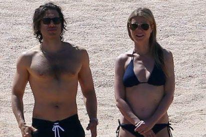 Gwyneth Paltrow luce palmito en las playas de México muy bien acompañada
